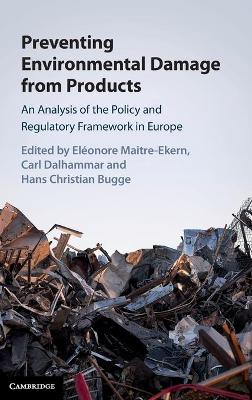 Preventing Environmental Damage from Products - Eleonore Maitre-Ekern