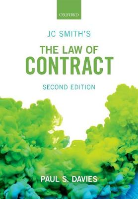 JC Smith's The Law of Contract - Paul S. Davies