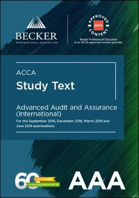 ACCA Approved - Advanced Audit & Assurance - INT (AAA-INT