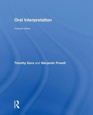 Oral Interpretation - Timothy Gura