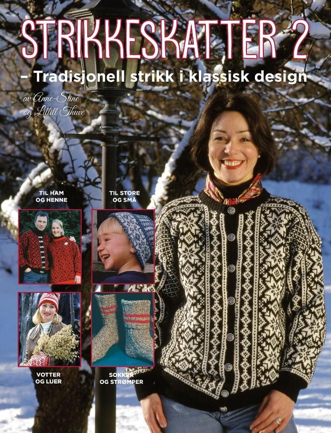 7454a05ab Strikkeskatter 2 - Anne-Stine Thuve - Paperback (9788242959850 ...