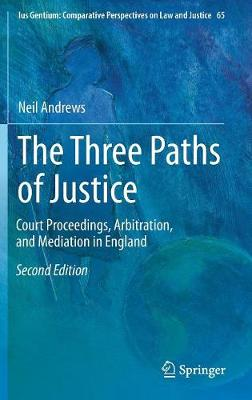 The Three Paths of Justice - Neil Andrews