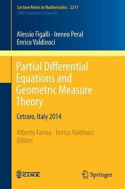 Partial Differential Equations and Geometric Measure Theory - Alessio Figalli