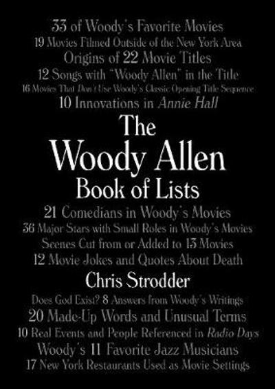 The Woody Allen Book of Lists - Chris Strodder