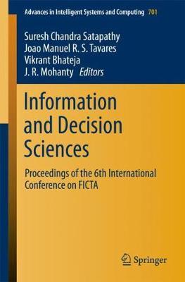 Information and Decision Sciences - Suresh Chandra Satapathy