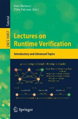Lectures on Runtime Verification - Ezio Bartocci