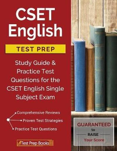 CSET English Test Prep - Cset English Study Book Prep Team