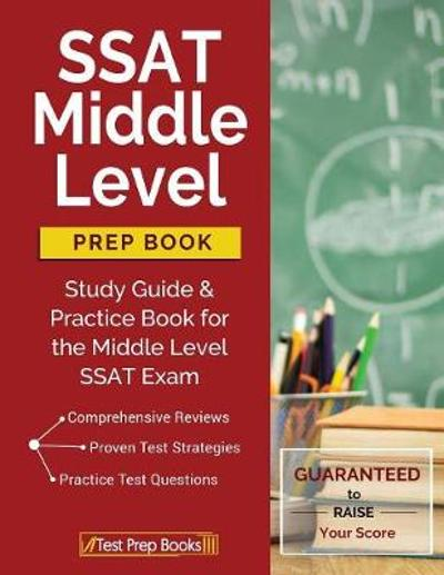 SSAT Middle Level Prep Book - Test Prep Books