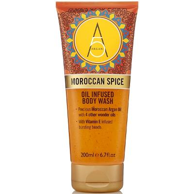 Moroccan Spice Oil Infused Body Wash - Argan+