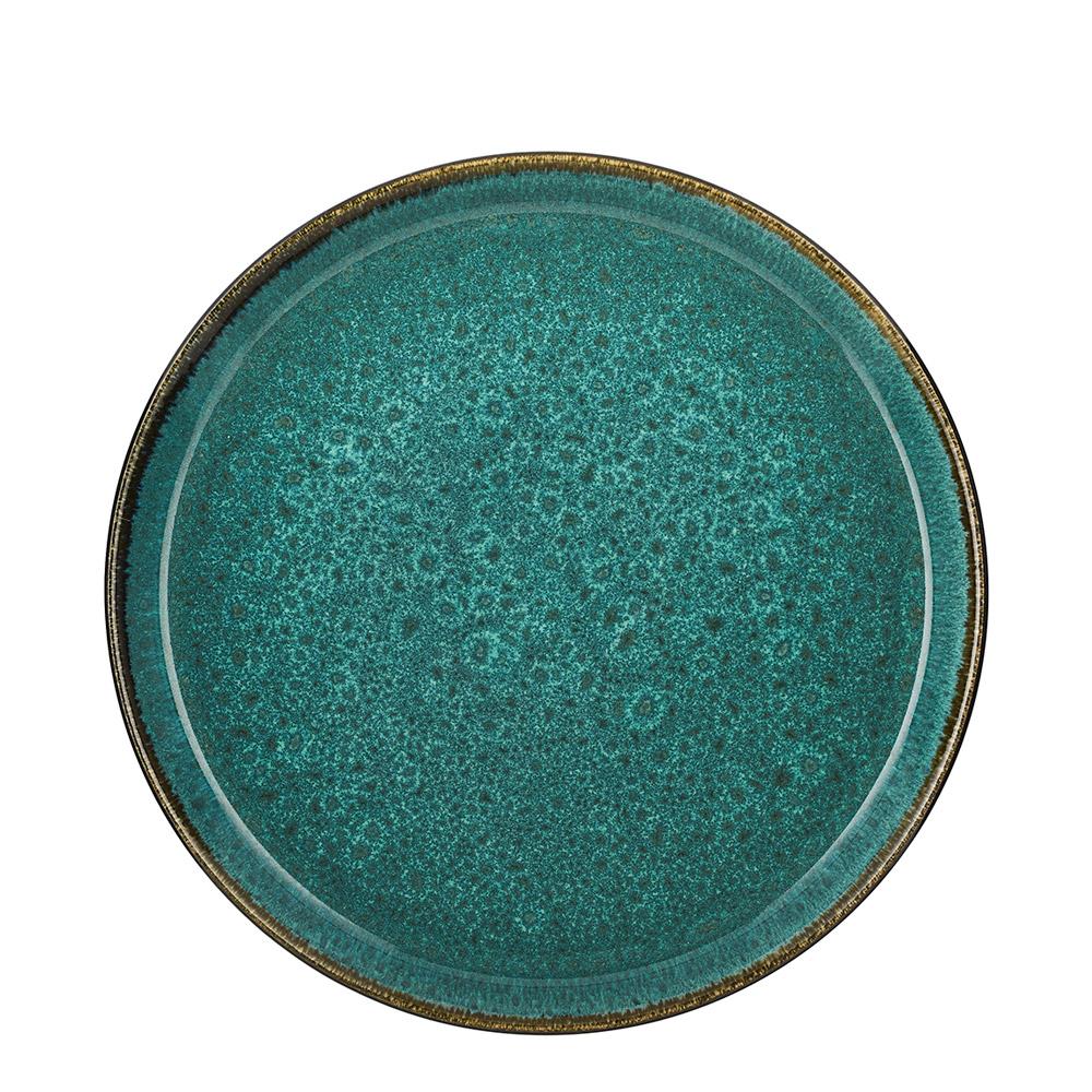09433a69 Tallerken dia 27 cm grønn/grønn - Bitz » Bokkilden