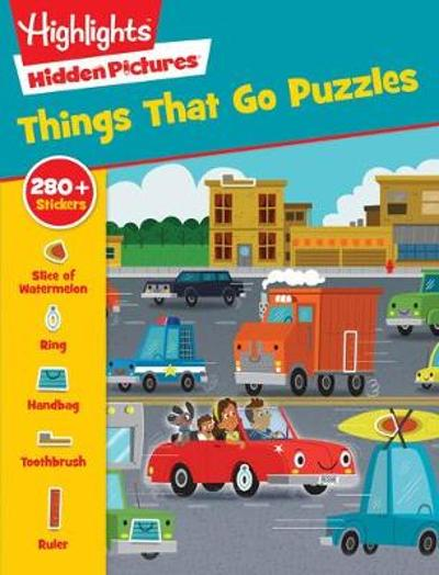 Things That Go Puzzles - Highlights Press