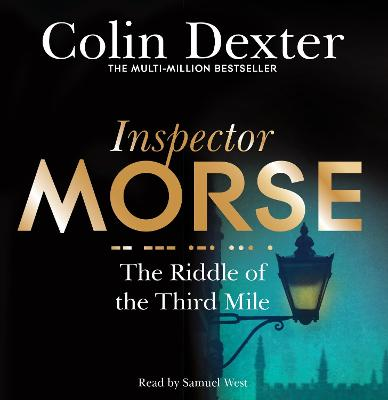 The Riddle of the Third Mile - Colin Dexter