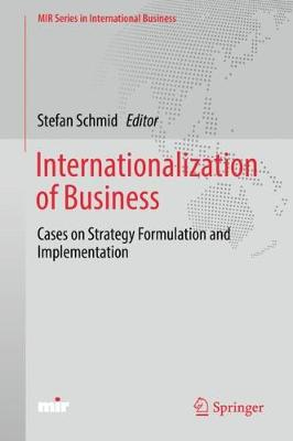 Internationalization of Business - Stefan Schmid