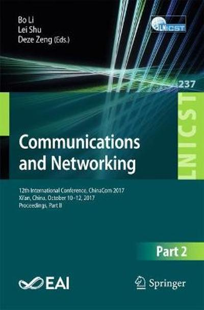 Communications and Networking - Bo Li