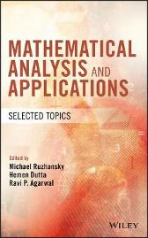 Mathematical Analysis and Applications - Michael Ruzhansky Hemen Dutta Ravi P. Agarwal