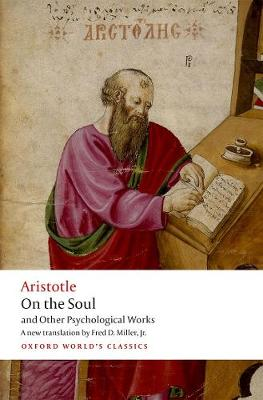 On the Soul - Aristotle  Fred D. Miller, Jr.