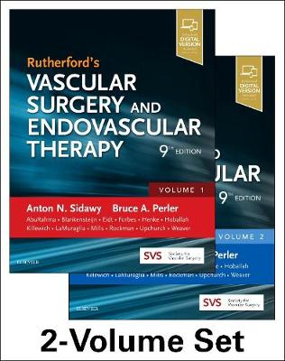 Rutherford's Vascular Surgery and Endovascular Therapy, 2-Volume Set - Anton N Sidawy