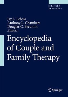 Encyclopedia of Couple and Family Therapy - Jay Lebow