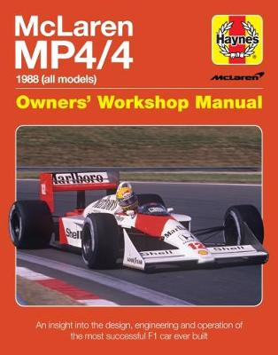 Mclaren Mp4/4 Owners' Workshop Manual - Haynes Publishing