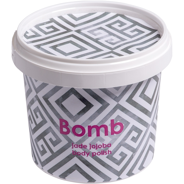 Jade Jojoba Body Polish - Bomb Cosmetics
