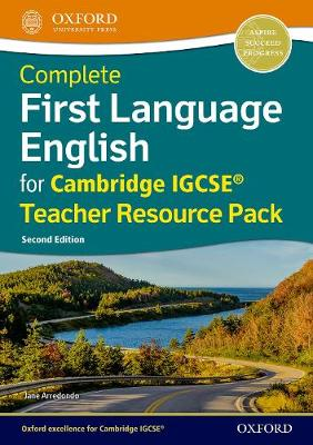 Complete First Language English for Cambridge IGCSE (R) Teacher Resource Pack - Jane Arredondo