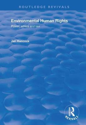 Environmental Human Rights - Jan Hancock