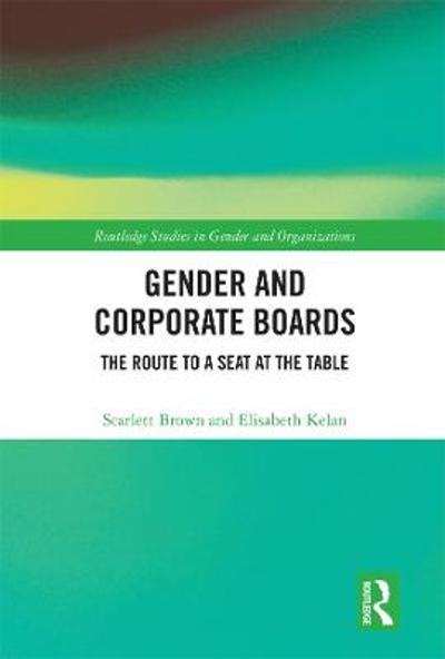 Gender and Corporate Boards - Scarlett Brown