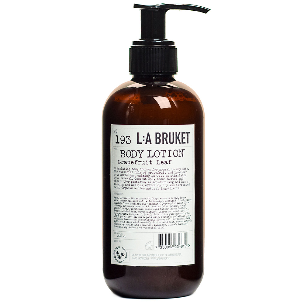 Bodylotion Grapefruit leaf 250 ml - L:A Bruket