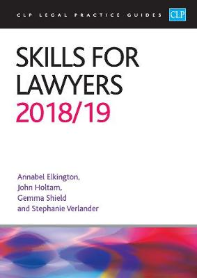 Skills for Lawyers 2018/2019 - Annabel Elkington