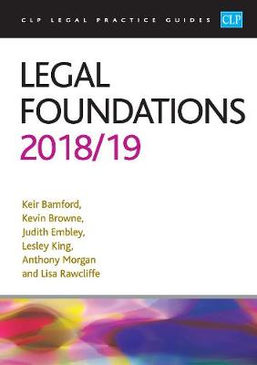 Legal Foundations 2018/2019 - Kier Bamford
