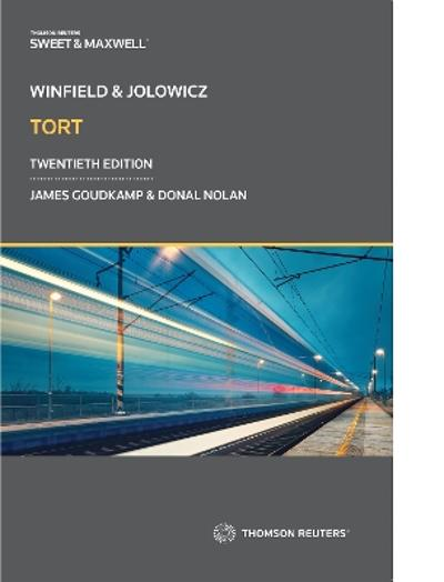 Winfield and Jolowicz on Tort - James Goudkamp