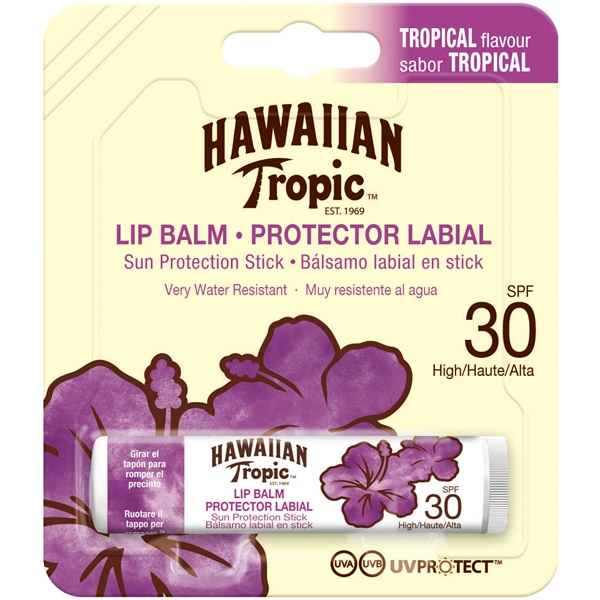 Lip Balm Sun Protection Stick SPF 30 - Hawaiian Tropic