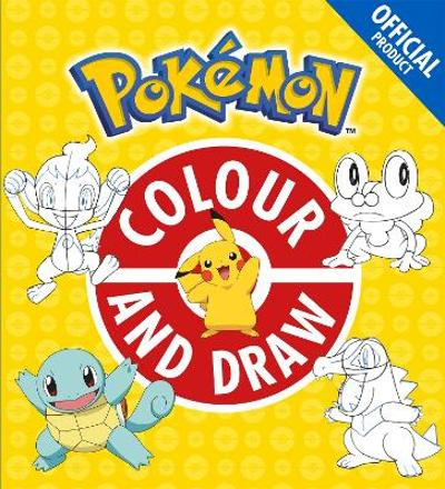 The Official Pokemon Colour and Draw - Pokemon