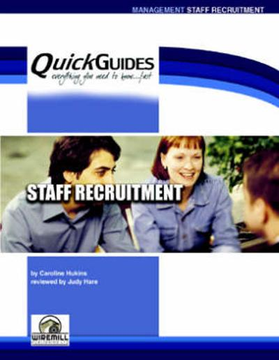 Staff Recruitment - Caroline Hukins