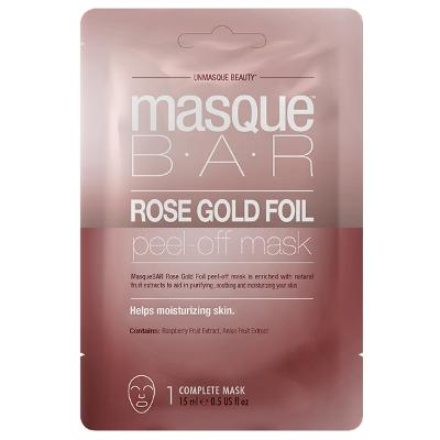 Rose Gold Foil Peel Off Mask - Masque Bar