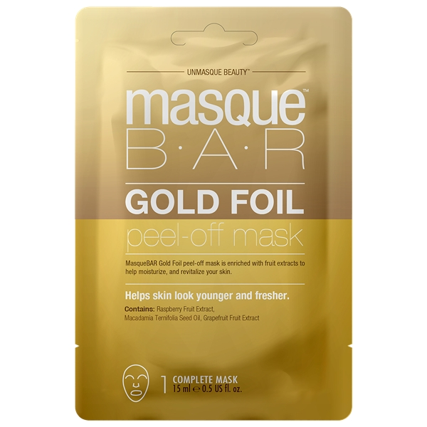 Gold Foil Peel Off Mask - Masque Bar