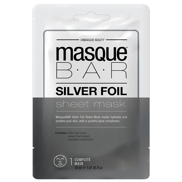Silver Foil Sheet Mask - Masque Bar