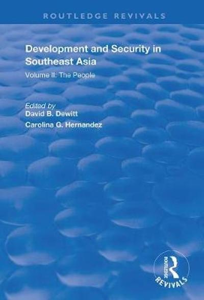 Development and Security in Southeast Asia - Carolina G. Hernandez