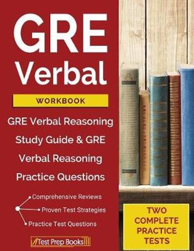 GRE Verbal Workbook - Test Prep Books