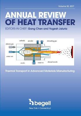 Annual Review of Heat Transfer Volume XX - Gang Chen
