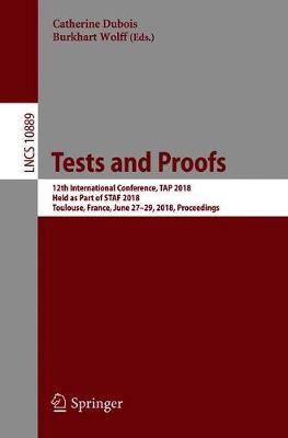 Tests and Proofs - Catherine Dubois