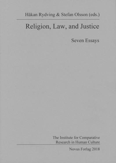 Religion, law, and justice - Håkan Rydving