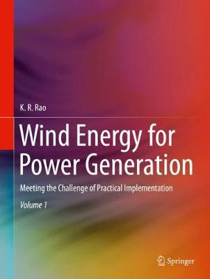 Wind Energy for Power Generation - K.R. Rao