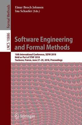 Software Engineering and Formal Methods - Einar Broch Johnsen