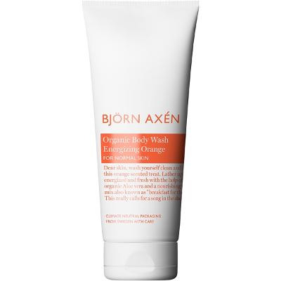Organic Body Wash Energizing Orange - Björn Axén
