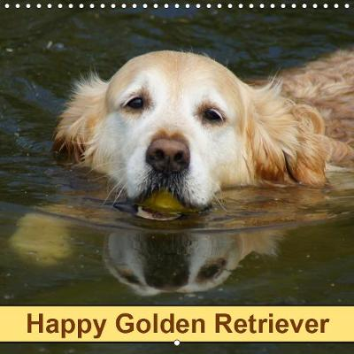 Happy Golden Retriever 2019 - kattobello