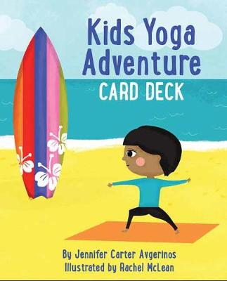 Kids Yoga Adventure Card Deck - Jennifer Carter Avgerinos