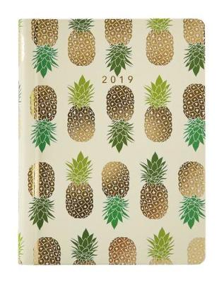 2019 Recipe Diary Pineapples Design - Emily Davenport