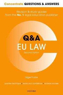 Concentrate Questions and Answers EU Law - Nigel Foster