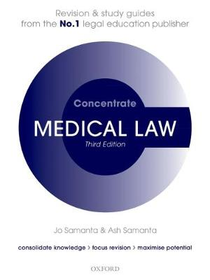 Medical Law Concentrate - Jo Samanta